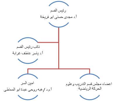 الهيكل التنظيمى